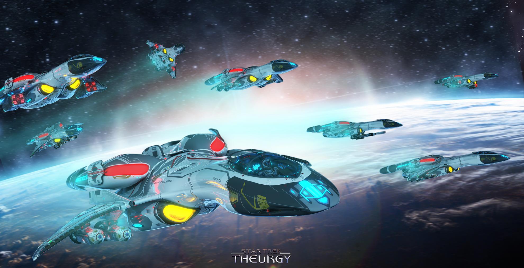 Theurgy Class Federation Starship Fan Trek The Omega Sector Bbs