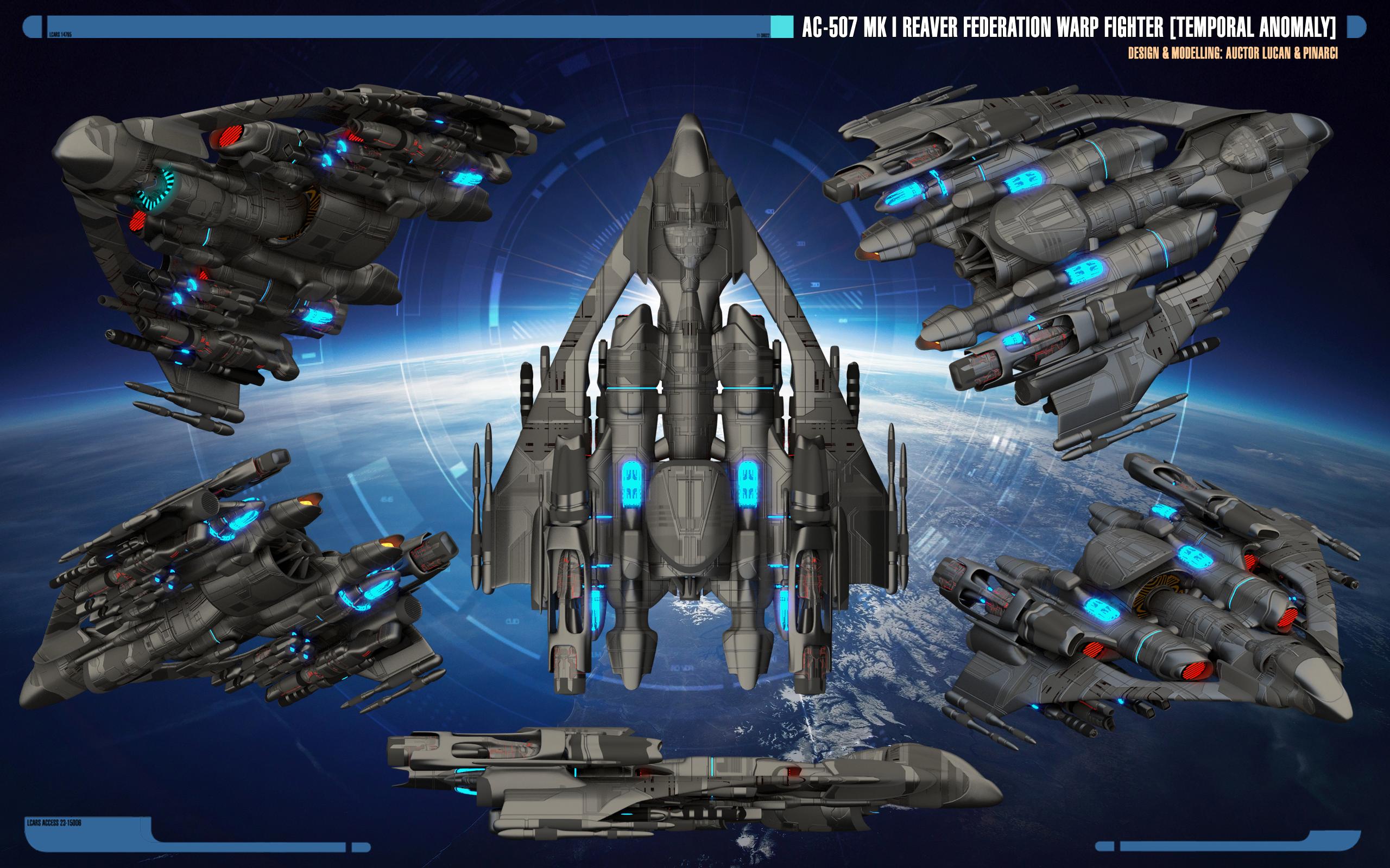 Ac 507 Mk I Reaver Star Trek Theurgy Wiki